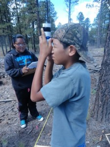 Native American youth environmental project