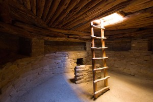 Light in the Kiva (underground ceremonial chamber)